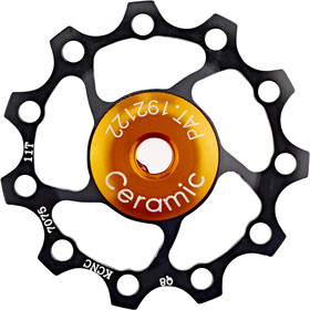 KCNC Jockey Wheel 11T Ceramic Bearing black
